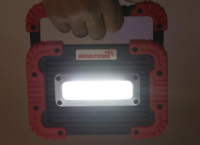 Rechargeable Site Light In Black And Red