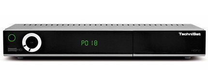 Freeview Box Recorder In Black And Chrome Finish