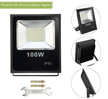 LED Outdoor Flood Light In All Black