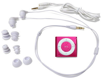 iPod Swimbuds With White Cord