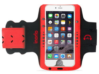 Smartphone Armband Jogging In Black And Red