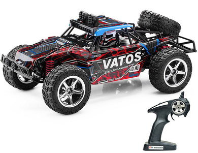 Off Road Remote Control Car With Big Black Tyres