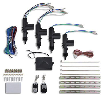 Universal Vehicle Locking Kit With Wires