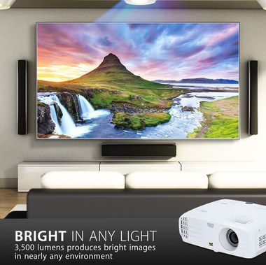 UHD Cinema Projector In White