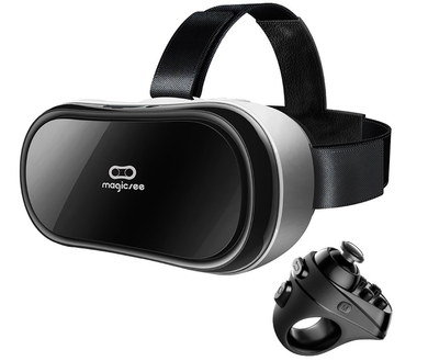 Bluetooth 4 VR Headset With TFT Screen