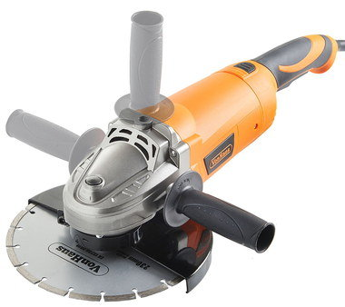 9 Inch Angle Grinder With 3 Position Grip