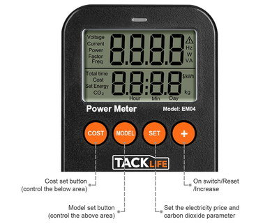 how to use a reduction plug-in power meter meter