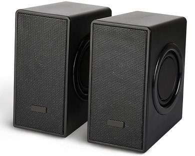 USB Speakers PC With Smooth Black Exterior