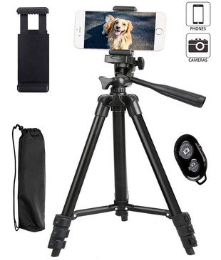 Flexible Universal Tripod With Black Carry Bag