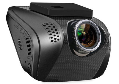 Night-Vision Discrete Dash Cam With USB Port
