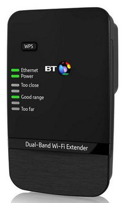 WiFi Extender/Booster 600 in Black