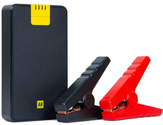 Jump Starter Power Bank In Black Yellow Finish