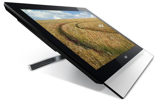 FHD Touch Monitor With Steel Stand