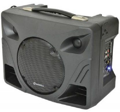Compact PA System With Handle On Top