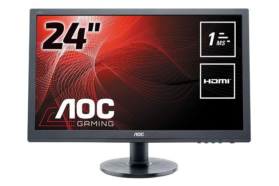 Monitor With HDMI And Round Base