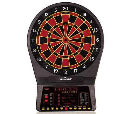 Black And Red Electronic Dartboard