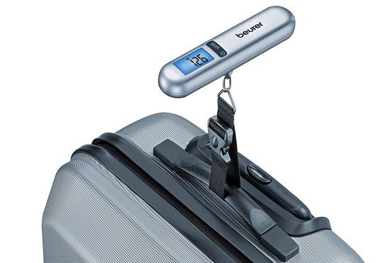 Digital Suitcase Scales With Blue LCD