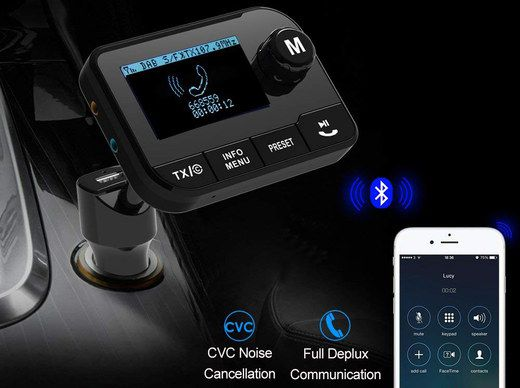 Bluetooth Phone Kit In Car Socket