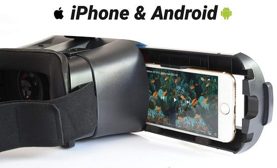 VR Headset For iPhone With Black Strap