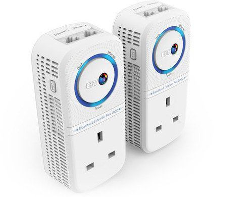 Broadband Powerline Kit In Blue And White
