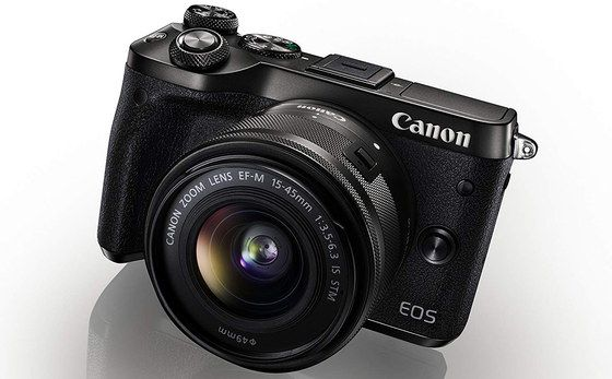 Canon M6 Mirrorless Camera In Black