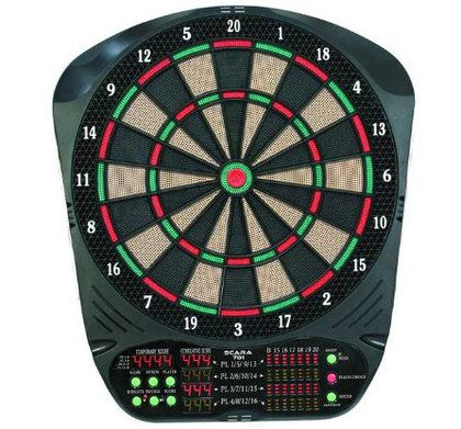 Electronic Dartboard With Red LED Scorer
