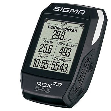 GPS Cycle Computer With Speed On Screen