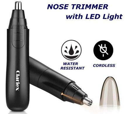 Electric Nasal Trimmer With LED Bulb
