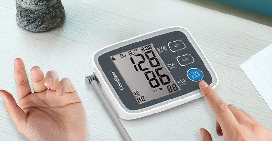 Digital Blood Pressure Monitor With Big LCD