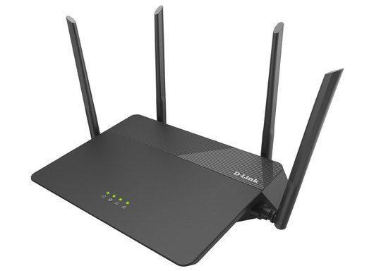 Dual Band WiFi Router In All Black