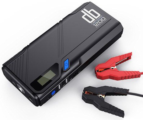 Jump Starter Pack In Black And Blue