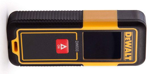 Laser Measuring Tool In Yellow And Black