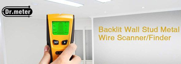 Electric Cable Detector In Black And Orange