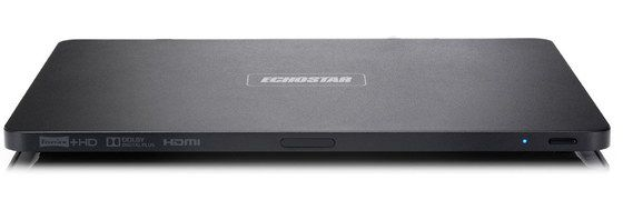 Recordable Freeview Box - Very Slim In Black