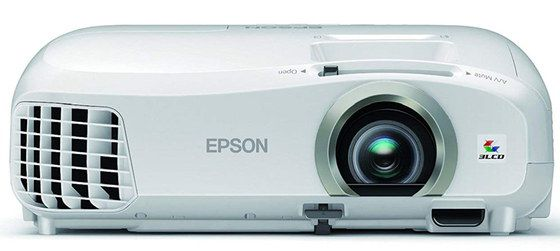 White Coloured LCD 3D Projector