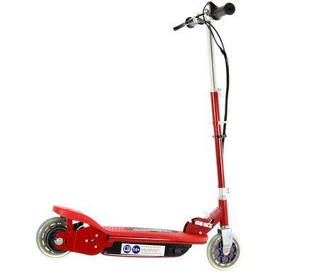 Electric Scooter Ride On In Red