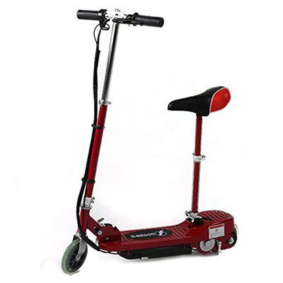 E-Scooter For Kids In Deep Red Colour