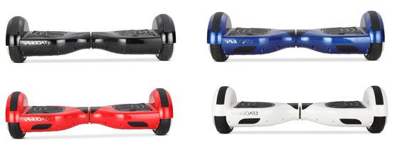 Scooter Hoverboard In Red, White, Blue