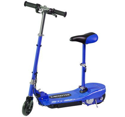 Childrens Electric Scooter In Blue