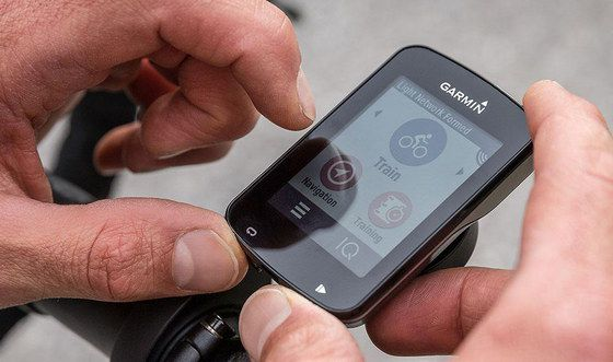 Black Bike Navigation GPS With Touch-Screen