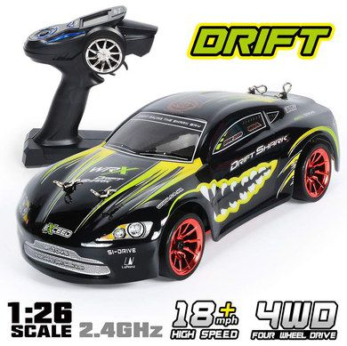 Remote Control Drift Car In Yellow And Black