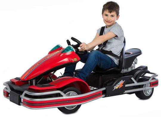 Small Kart For Kids With Big Red Bumper