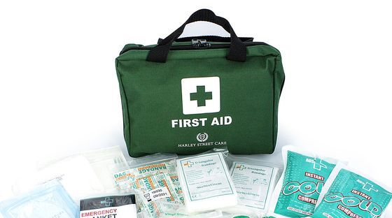 First Aid Kit Medical Bag With White Cross
