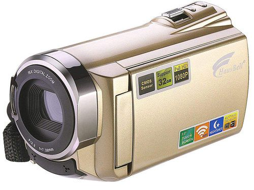 FHD Digital Camcorder In Golden Finish