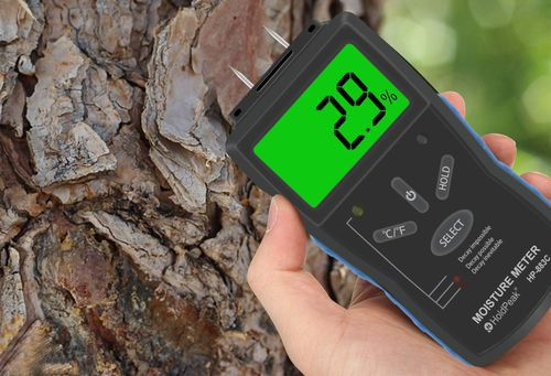 Wood Moisture Detector With Big LCD