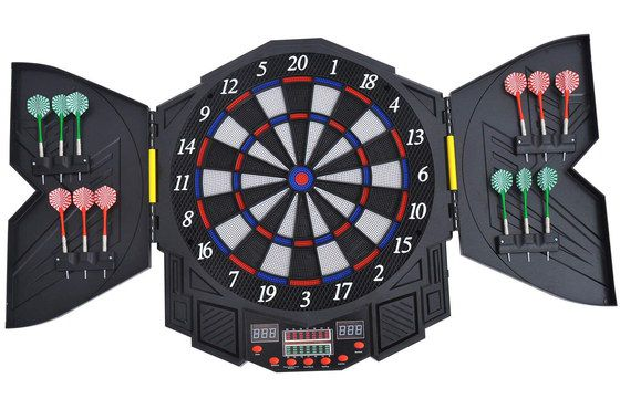 Electronic Dartboard Set With LED Counter