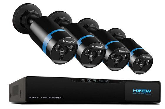 Home CCTV Security System In Black