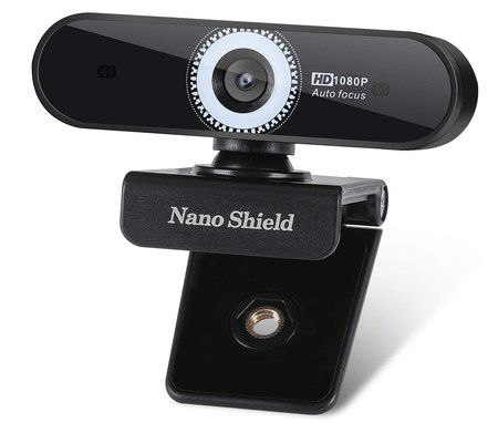 USB Computer Webcam With Black Exterior