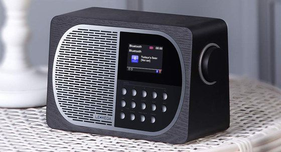 Portable Internet Radio With Black Side Dial