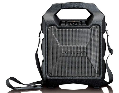 Portable PA System With Black Strap